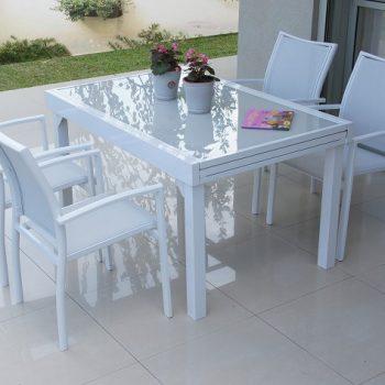 שולחן אלומיניום 135/270