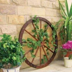 גלגל כירכה דקורטיבי לגינה