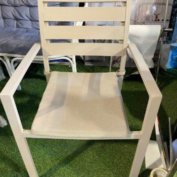 כיסא אלומיניום JOY צבע אבן
